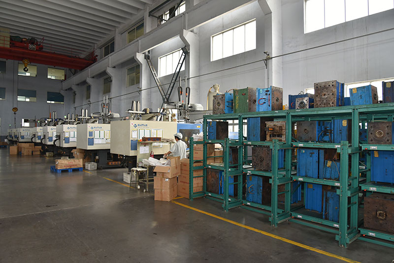 Injection molding shop